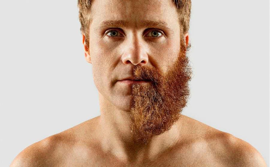 Когда начинает расти борода у парней