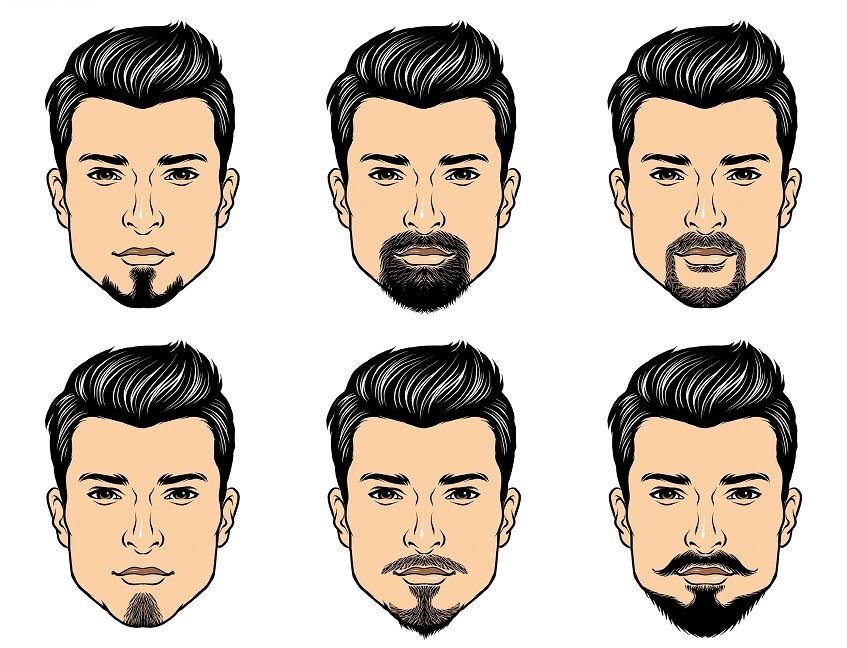 Как выбрать бороду под форму лица